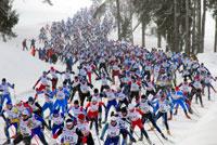 XVII традиционный лыжный марафон