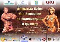 'Открытый Кубок Юга Башкирии по бодибилдингу и фитнесу' подробности